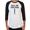 Wolf of Wall Street Sell Me This Pen Men's Baseball T-Shirt