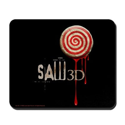 Saw 3D Mousepad