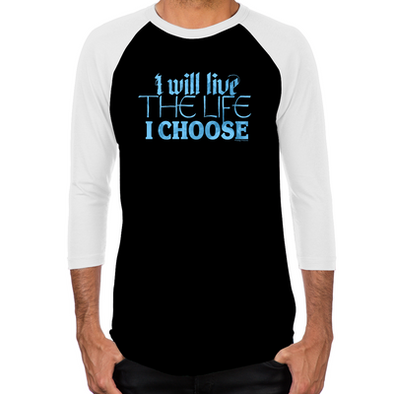 Lost Girl Live the Life I Choose Baseball T-Shirt