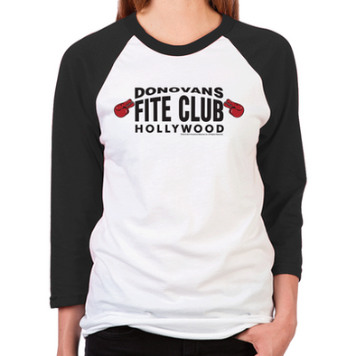 Donovan's Fite Club Women's Baseball T-Shirt