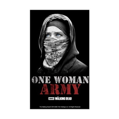 One Woman Army Sticker