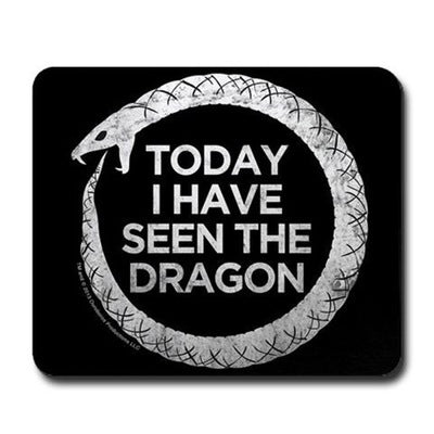 Ouroboros Dragon Mousepad