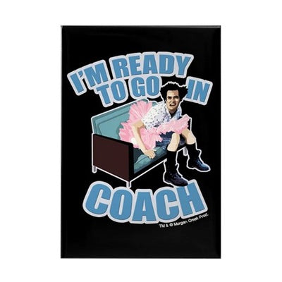 Ace Ventura Ready to Go in Coach Magnet