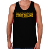 Wolf of Wall Street Pick Up the Phone Men's Tank
