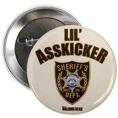 "Lil Asskicker 2.25"" Button"