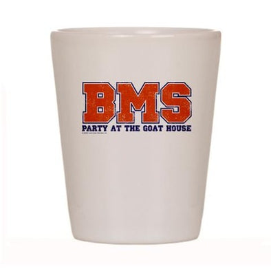 BMS Party at the Goat House Shot Glass