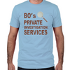 Bo's Private Investigation Services Fitted T-Shirt