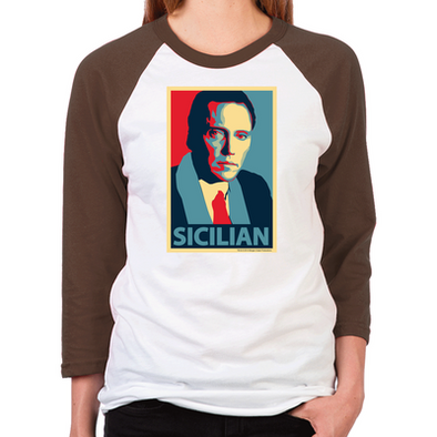 Sicilian Women's Baseball T-Shirt