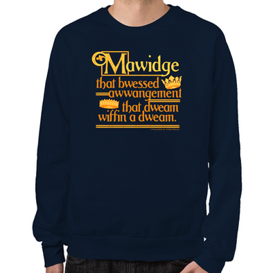Mawidge Speech Sweatshirt
