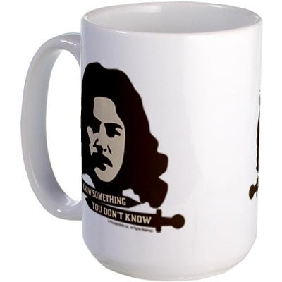 Inigo Montoya Knows Something Large Mug