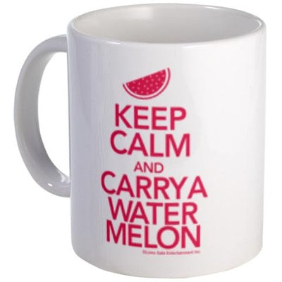 Keep Calm & Carry a Watermelon Mug