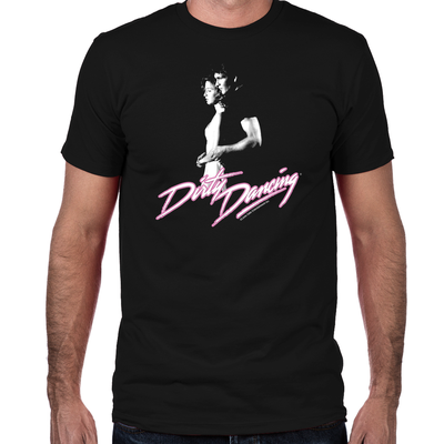 Dirty Dancing Johnny and Baby Fitted T-Shirt