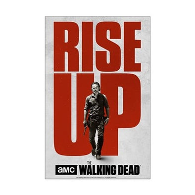Rise Up S7 Walking Dead Mini Poster Print