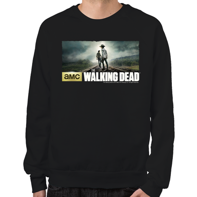 Carl and Rick Grimes Don't Look Back Sweatshirt