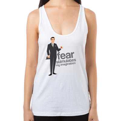 Mad Men Don Draper Women's Racerback Tank