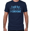 Live the Life I Choose Men's Lost Girl Fitted T-Shirt