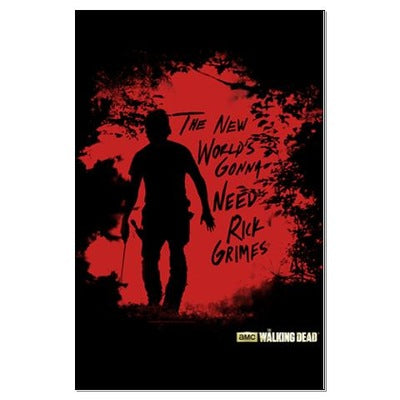 Rick Grimes World Large Poster