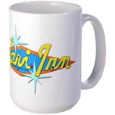 Safari Inn Large Mug