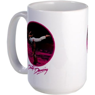 Dirty Dancing Swim Scene Large Mug