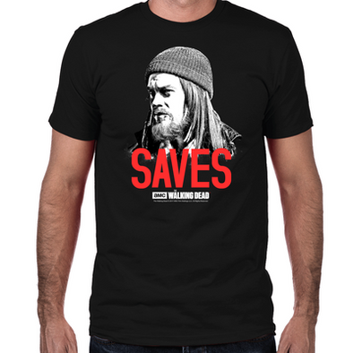 Jesus Saves Fitted T-Shirt