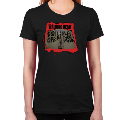 Don't Open Dead Inside Women's Fitted T-Shirt
