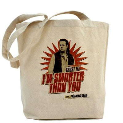 Eugene Smarter Than You Tote Bag