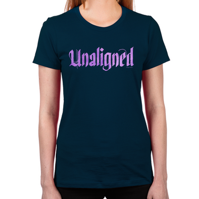 Lost Girl Unaligned Women's Fitted T-Shirt
