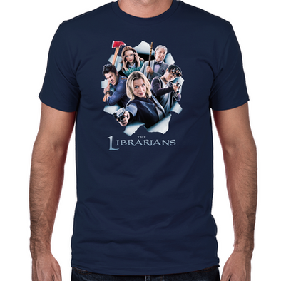 The Librarians Season 2 Fitted T-Shirt