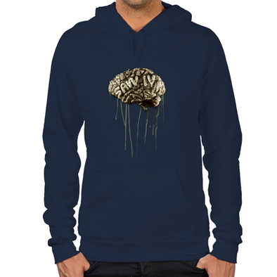 Saw Brain Men's Hoodie