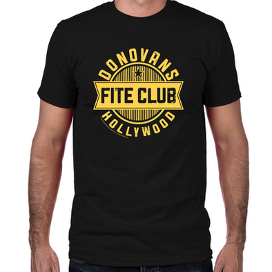 Donovan's Hollywood Fite Club Fitted T-Shirt