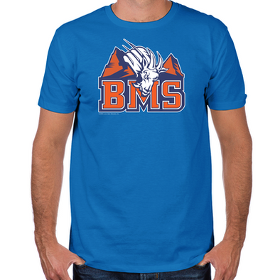 Blue Mountain State Fitted T-Shirt