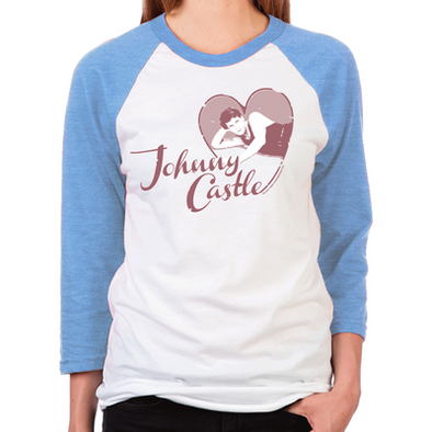 Love Johnny Castle Women's Baseball T-Shirt