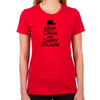 Keep Calm and Carry Iocane Women's Fitted T-Shirt