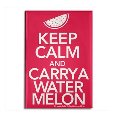 Keep Calm and Carry a Watermelon Magnet