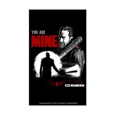 Negan You Are Mine Sticker