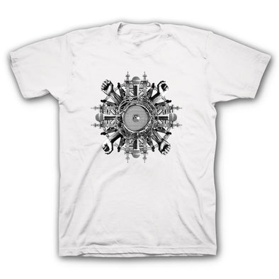 Wheels White T-Shirt