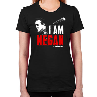I Am Negan Women's Fitted T-Shirt