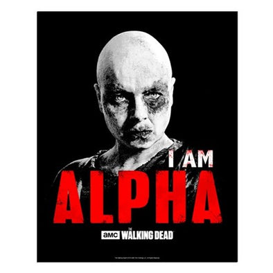 I Am Alpha Small Poster