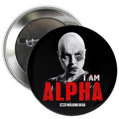 I Am Alpha Button