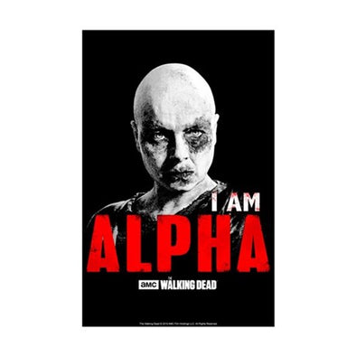 I Am Alpha Mini Poster