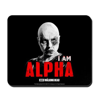 I Am Alpha Mousepad