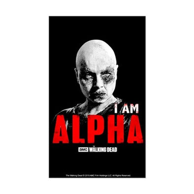 I Am Alpha Sticker