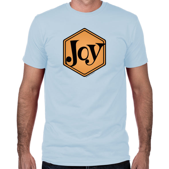 Joy Men's Fitted T-Shirt