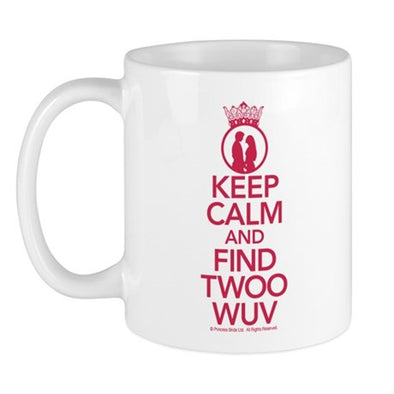 Keep Calm and Find Twoo Wuv Mug