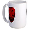Bloodletting Mask Red  15oz Large Mug