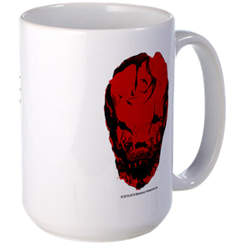 Bloodletting Mask Red  15oz Mug