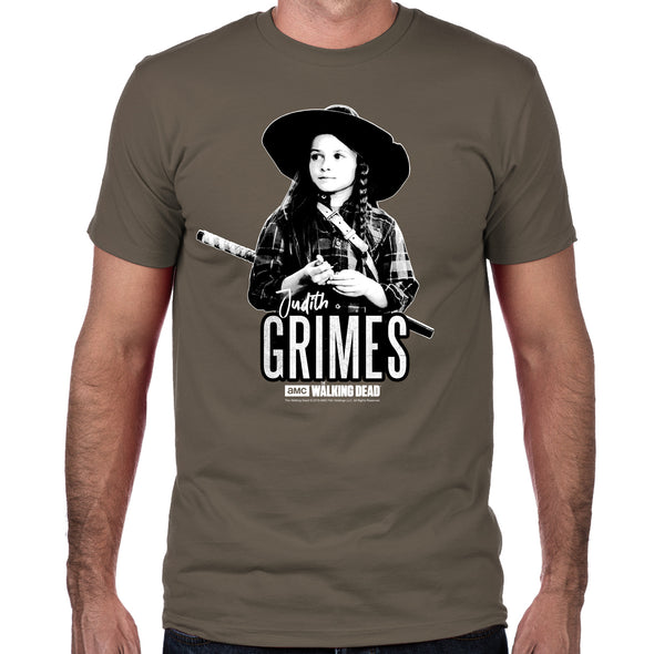 Judith Grimes Men's Fitted T-Shirt