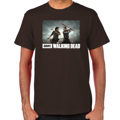 Rick & Negan Face Off T-Shirt