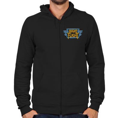 Night Flight Zip Hoodie