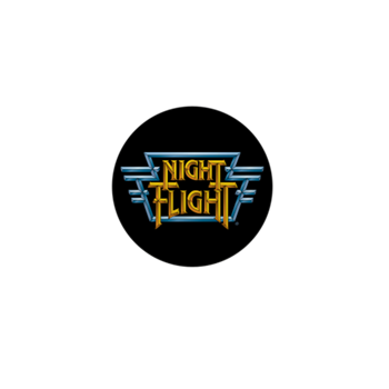 Night Flight Mini Button